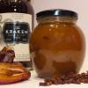 Rabarber-dadel met spiced rum en kruidnagel