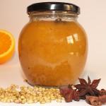 Sinaasappel met koriander en steranijs