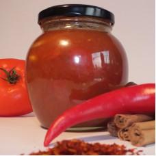 Tomatenchutney met kaneel & chili