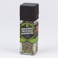 Malabarpeper groen 35 gr – Specerijenmolen