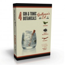 4 Gin & Tonic Botanicals & Spices  'Gentlemen's Cut''