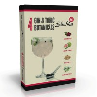 4 Gin & Tonic Botanicals & Spices  'Ladies Kiss'